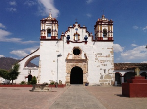 Teotitlan's 17th century church