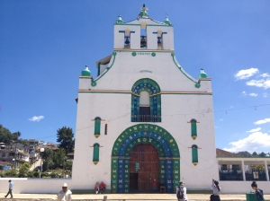 The church of San Juan Chamula