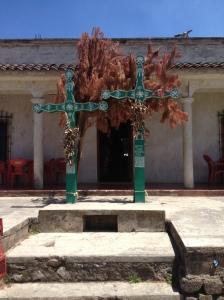 Mayan crosses in Chamula