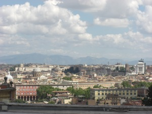 View from Gianicolo