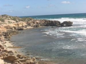 Rugged beaches on the Peninsular