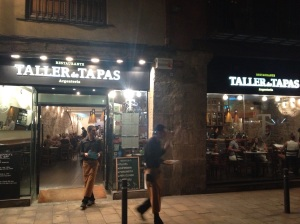 A more creative take on Spain favourite small dishes